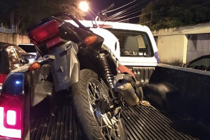 Encontrado desmanche de moto no Piauí; PMs estavam no local